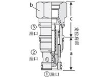 带T-8A的非平衡型导压...