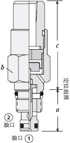导压级泄压阀,气控直动型